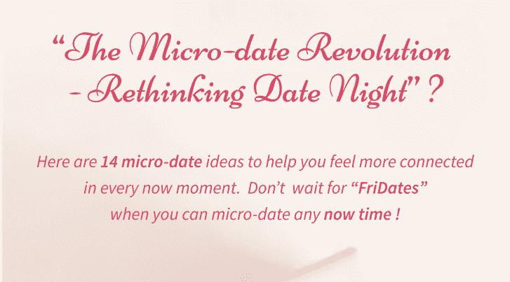 micro-date revolution date night