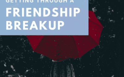 Getting Through A Friendship Breakup