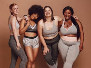 Love Your Body, group of healthy women, health at every size